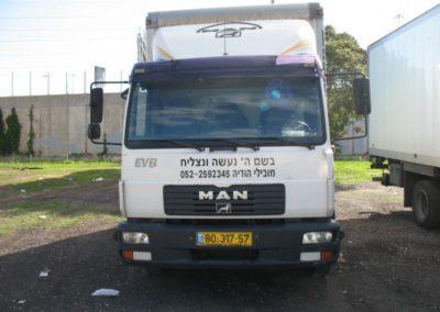 השכרת משאיות
